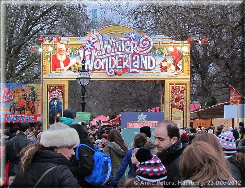 Winter Wonderland 23 Dec 2012